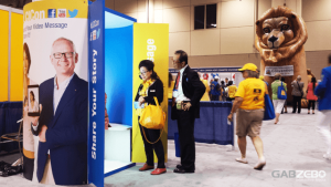 Toronto trade shows and conventions video booth rental